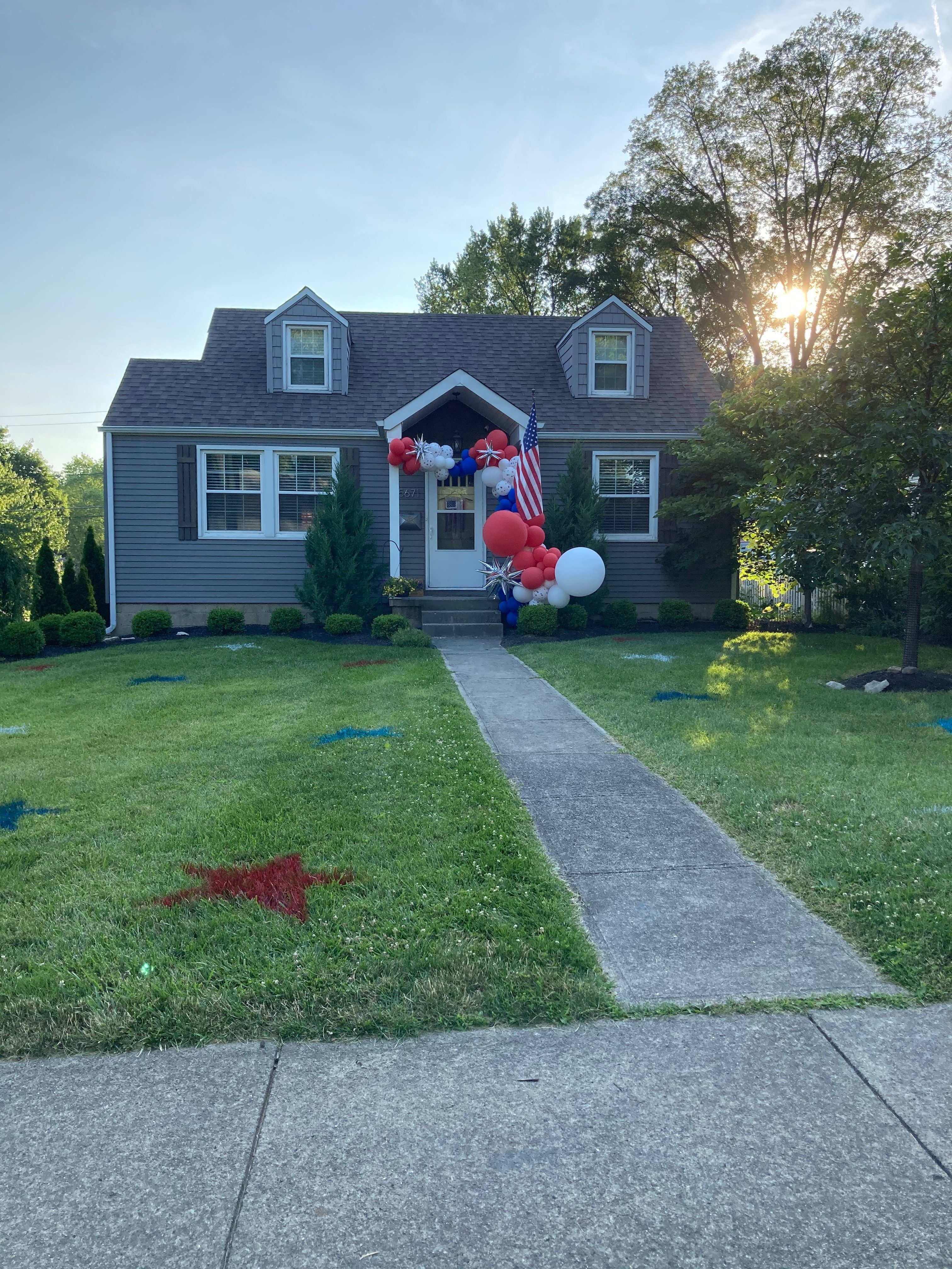 July 4 House Decorating