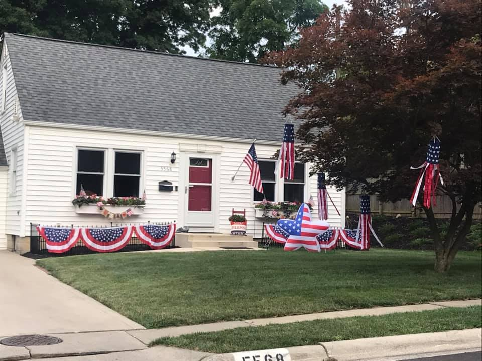 2021 4th of July House Decorating