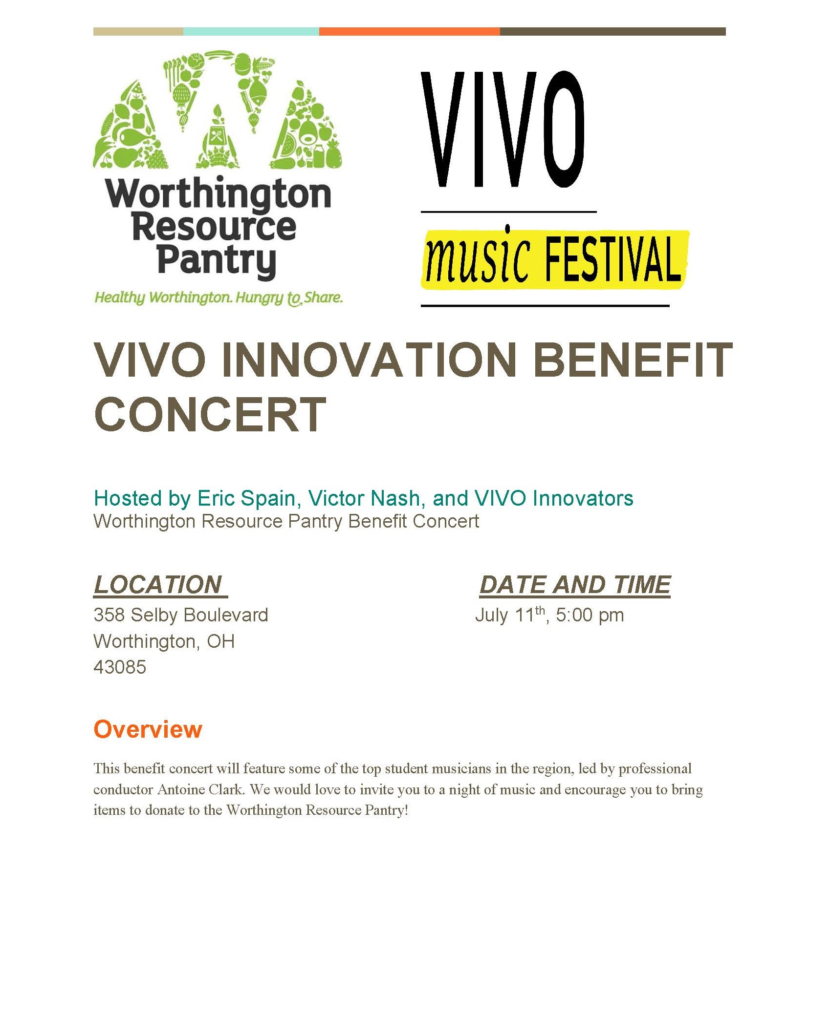 VIVO Benefit Concert Selby Park 2021